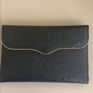 Rebecca Minkoff clutch and wallet